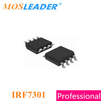 Mosleader IRF7301 SOP8 100PCS 1000PCS IRF7301TRPBF IRF7301TR IRF7301PBF N-Channel 20V 5.2A Made in China High quality image