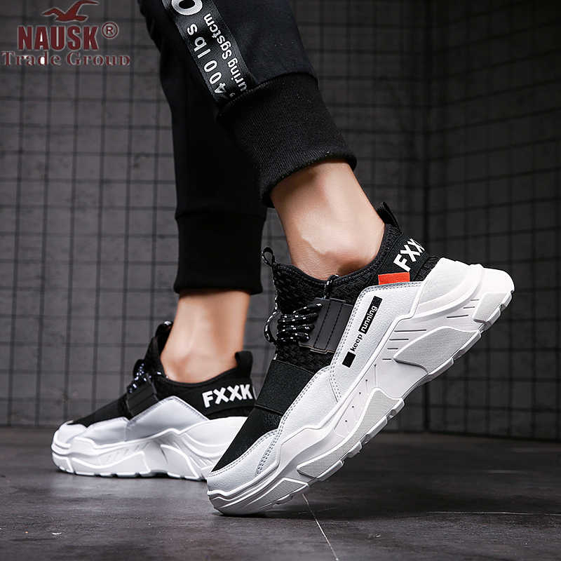 Male Sneakers Men Casual Shoes Walking Driving Office Outdoor Shoes Flat Comfortable Lightweight Breathable Shoes For Man Spring