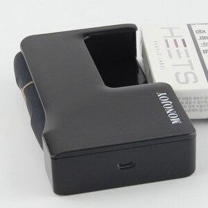Image 5 - Estojo carregador três em um para cigarros, capa para arma de fumo iqos 2.4 plus