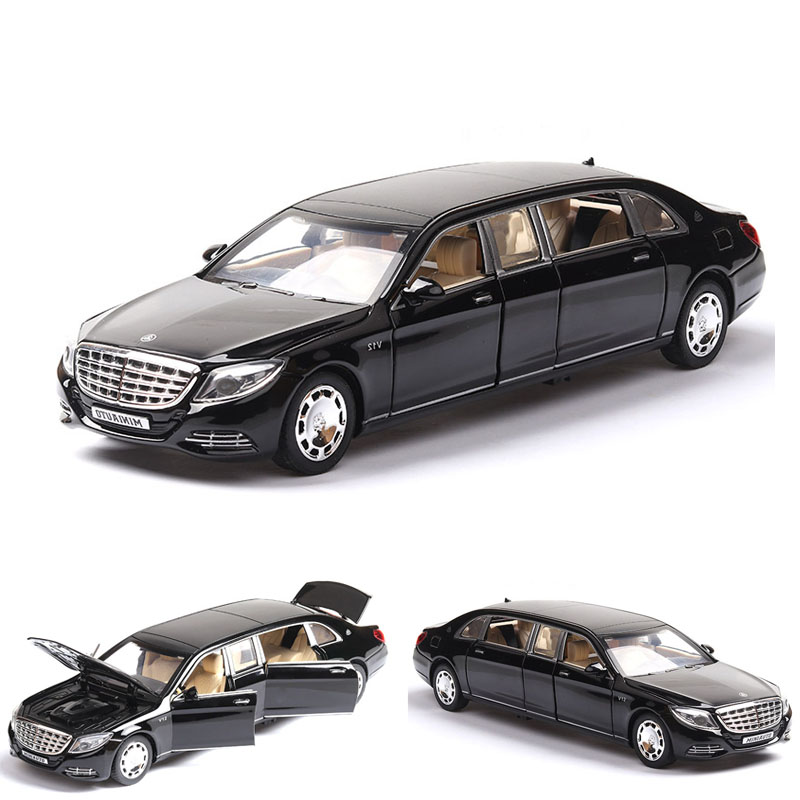 1:32  Mercedes Benz S650 AMG Maybach Die Cast Alloy Car Model  Kid Toy BirthdayChristmas Gifts Free Shipping