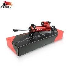 Motorcycle CNC Steering Stabilizer Damper shock absorber stable steering for HONDA VFR VFR 400 800 800X 750 VFR1200 1200F 1200X