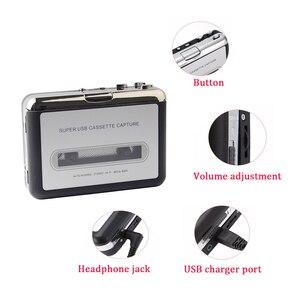 Image 4 - USB Cassette Cassette To MP3 Converterจับเครื่องเล่นเพลงเทปสนับสนุนWindows 7/8