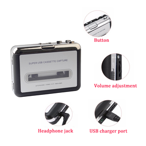 Image 4 - USB Cassette Player Cassette to MP3 Converter Capture Music Player Cassette Tape Recorder Support Windows 7/8