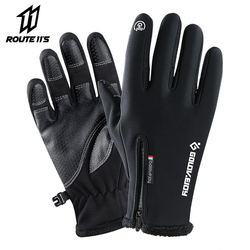Motorcycle Gloves Moto Gloves Winter Thermal Fleece Lined Winter Water Resistant Touch Screen Non-slip Motorbike Riding Gloves #
