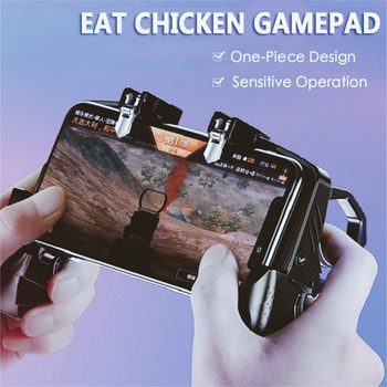 2020 Mobile Phone Gamepad Joystick PUGB Game Shooter Trigger Fire Button For IPhone Android phone gaming controller accessories 2