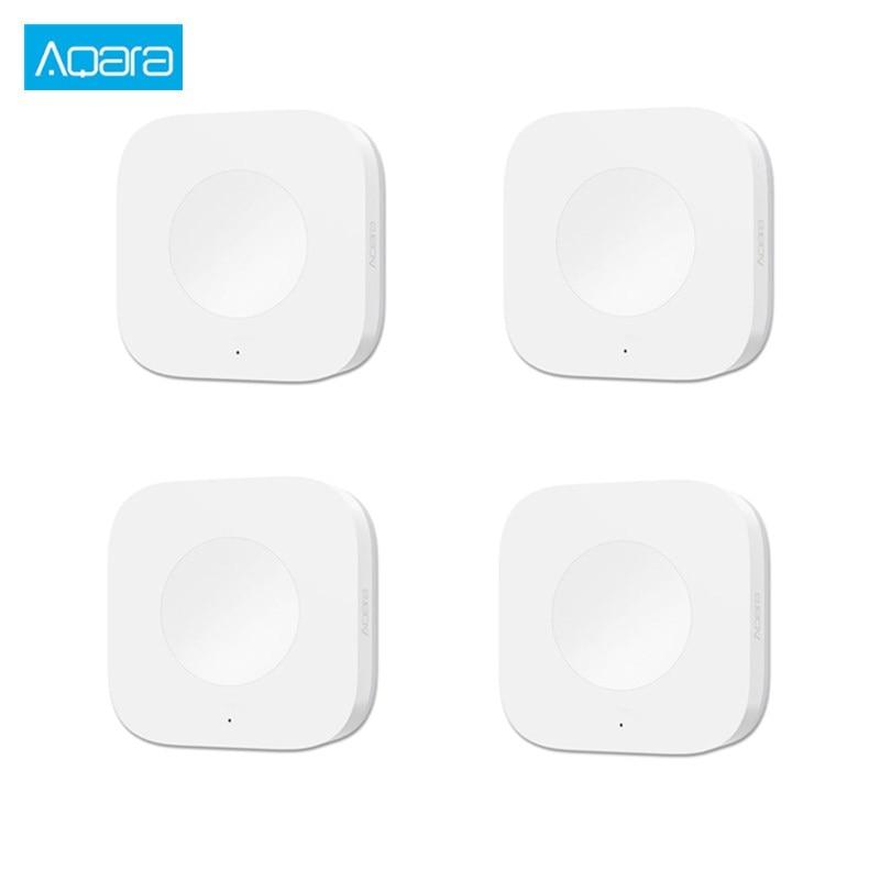 Aqara Smart Wireless Switch Key Intelligent Remote Control Light Switch ZigBee Wifi Connection For Doorbell