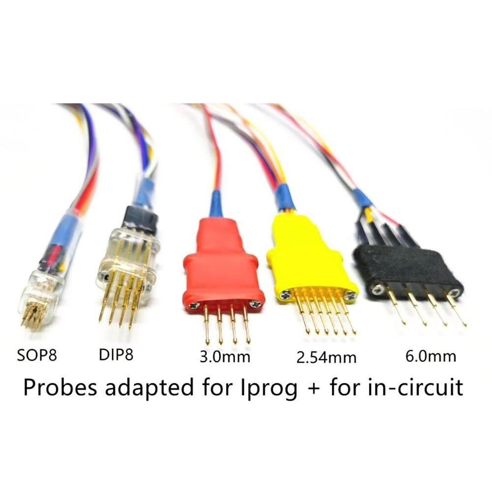Najnowsze sondy adaptery do kabli ECU w obwodzie działają na sondy Iprog 5 bez lutowania dla XPROG Iprog +