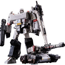 BPF AOYI New Big Size 21cm Robot Tank Model Toys Cool Transformation Anime Action Figures Aircraft Car Movie Kids Gift