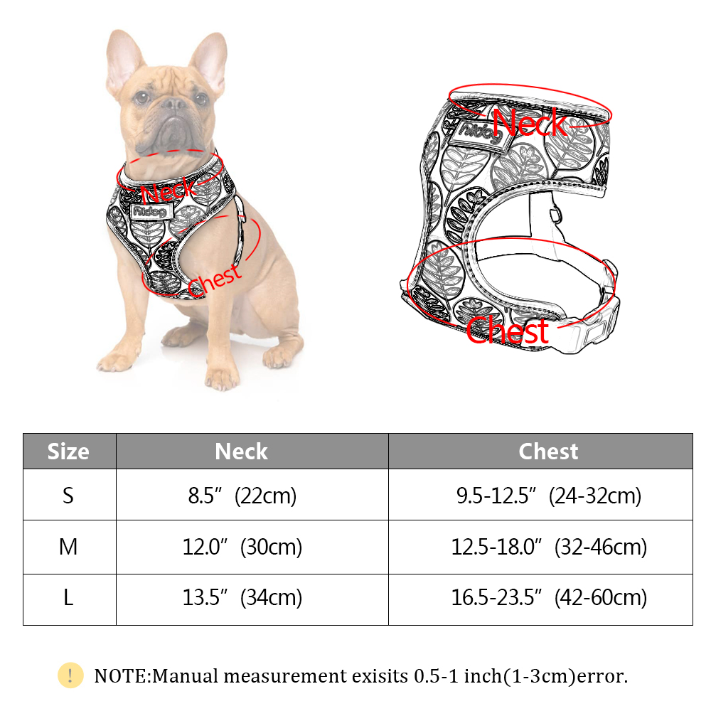Breathable Nylon Ruffwear Harness For Small Medium Dogs Cats