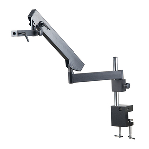 Image 2 - Adjustable Direction Articulating Arm Pillar Clamp Holder Bracket 76mm Microscope Stand For Stereo Trinocular Microscope