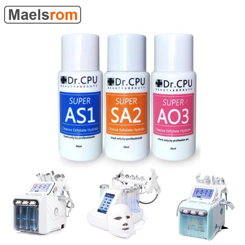 Beauty Salon Use Skin Cleansing Small Bubble Machine Hydra Dermabrasion AS1 SA2 AO3 Aqua Peel Solution Aqua Hydra Peeling