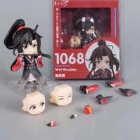 Nendoroid 1068 Anime Großmeister von Dämonische Anbau Wei Wuxian Action Figur Modell Spielzeug Puppe Für Geschenk