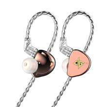 2020 AUGLAMOUR F300 Light 10mm HIFI earphones Dynamic Wired