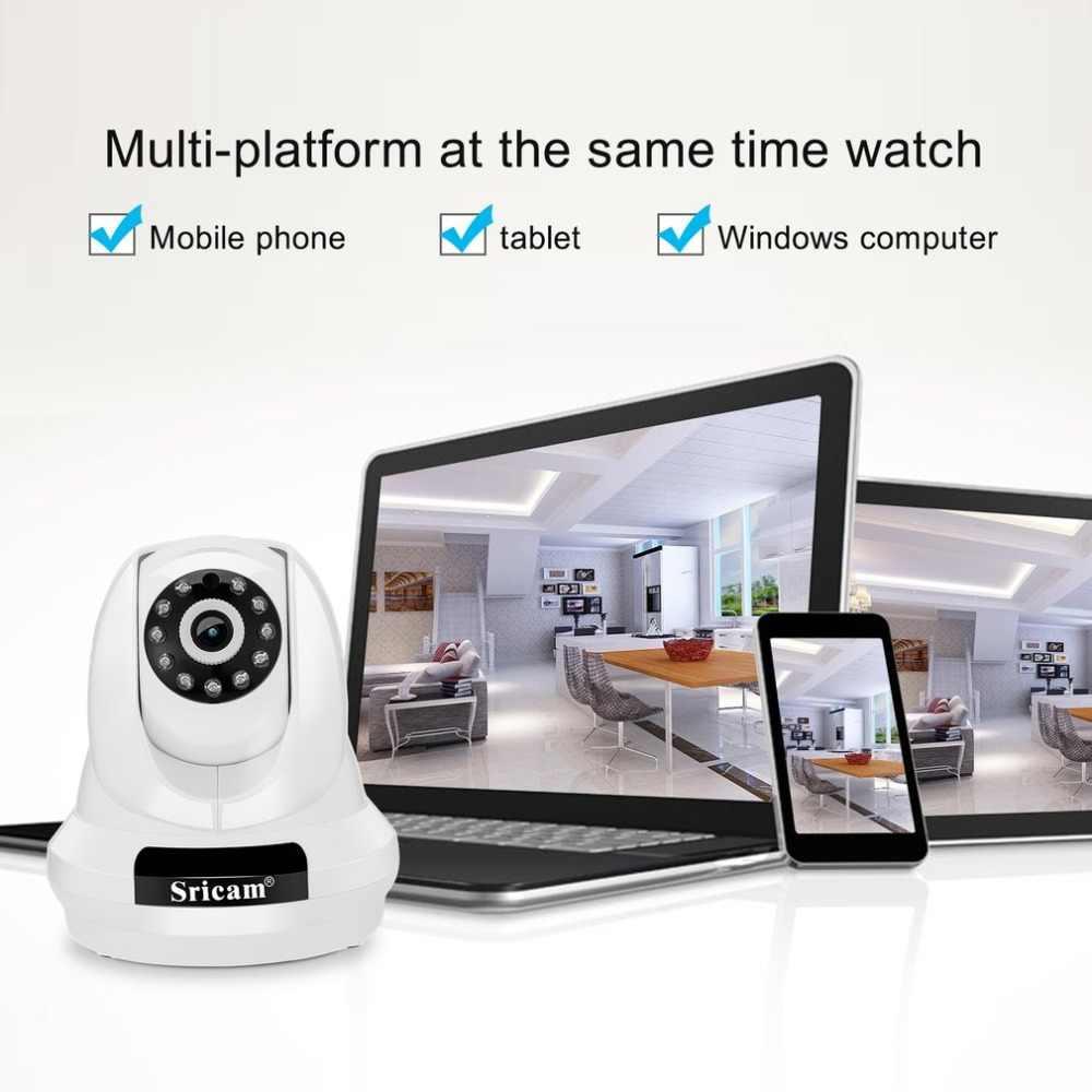 Sricam PTZ IP kamera 1080P HD kablosuz güvenlik kamera 2.0MP WiFi gözetim ev monitör hareket algılama gece görüş