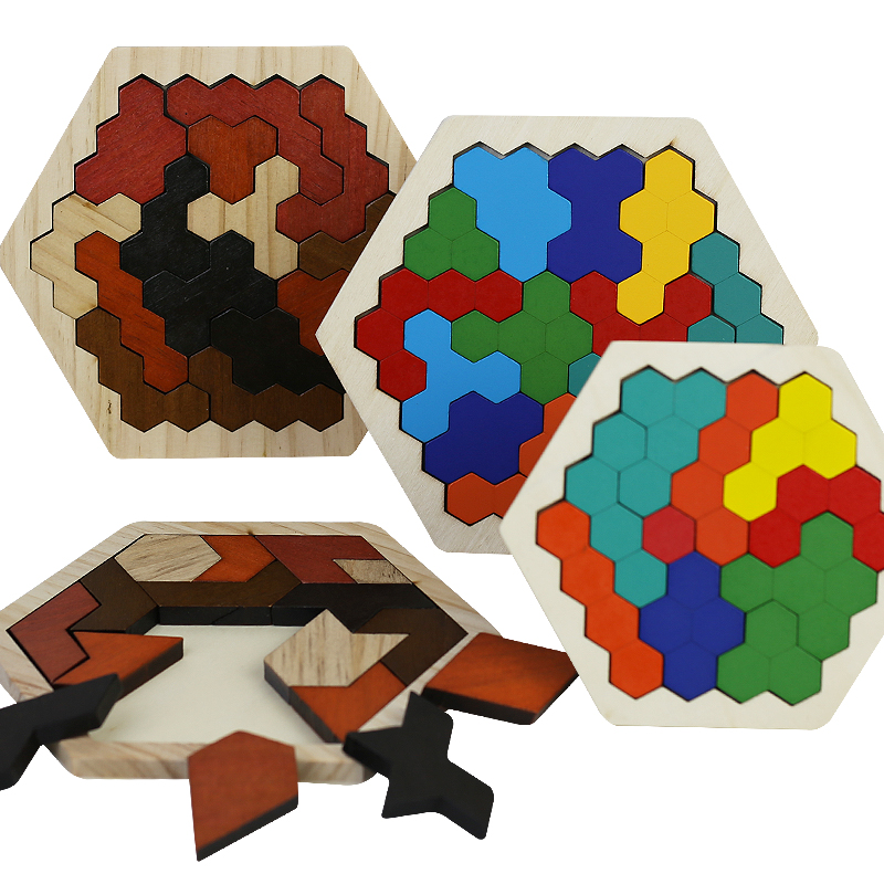 Children's Intellectual Development Of Wooden Puzzle