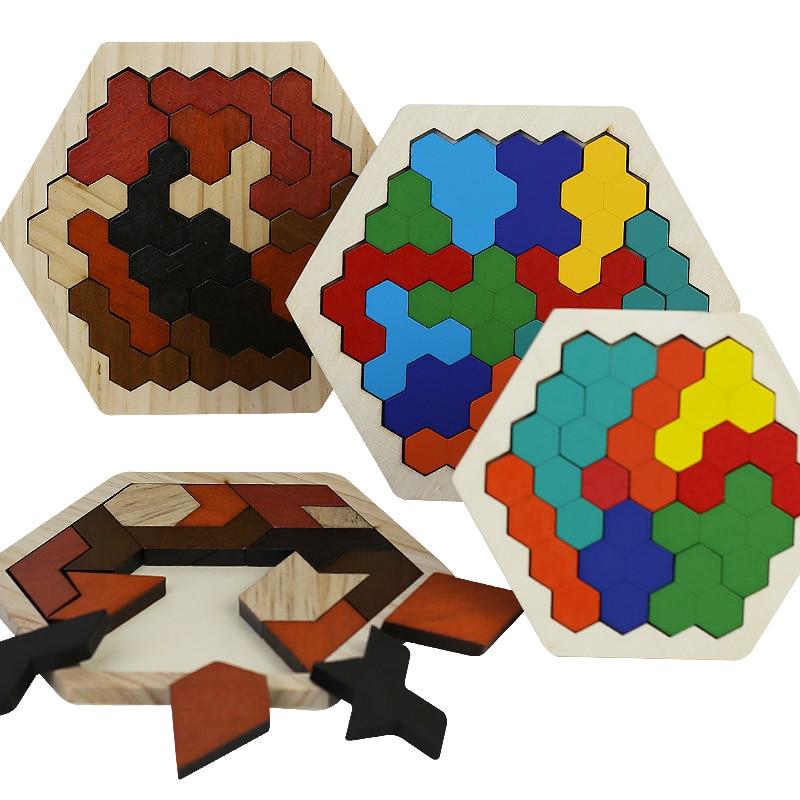 Children's Intellectual Development Of Wooden Puzzle
