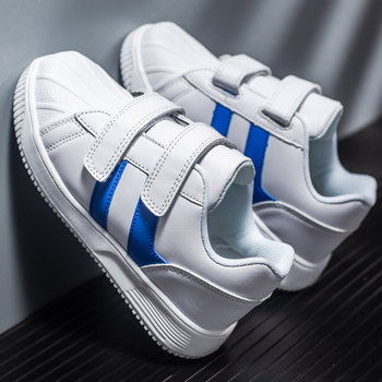 Boys Brand Leather Shoes Thick Sole Non-slip Kids Sneakers Children Casual Shoes Unisex Girls Autumn Shoes Child Boy Girl Flat hot sale boys shoes children casual shoes girls new brand kids leather sneakers sport shoes fashion casual children boy sneakers