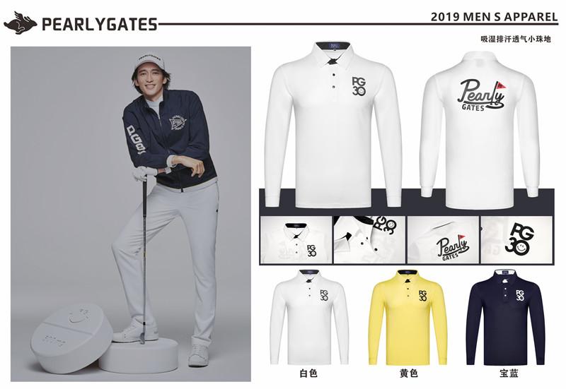KMen\'s sportswear long-sleeved golf T-shirt 4colors golf apparel S-XXL choose leisure golf clothing free shipping