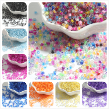 Luster Spacer-Beads Glass-Seed Jewelry-Making Crystal Czech 1000pcs Super for DIY Austria