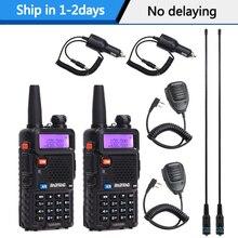 2PCS BaoFeng UV-5R Walkie Talkie VHF/UHF136-174Mhz&400-520Mhz Dual