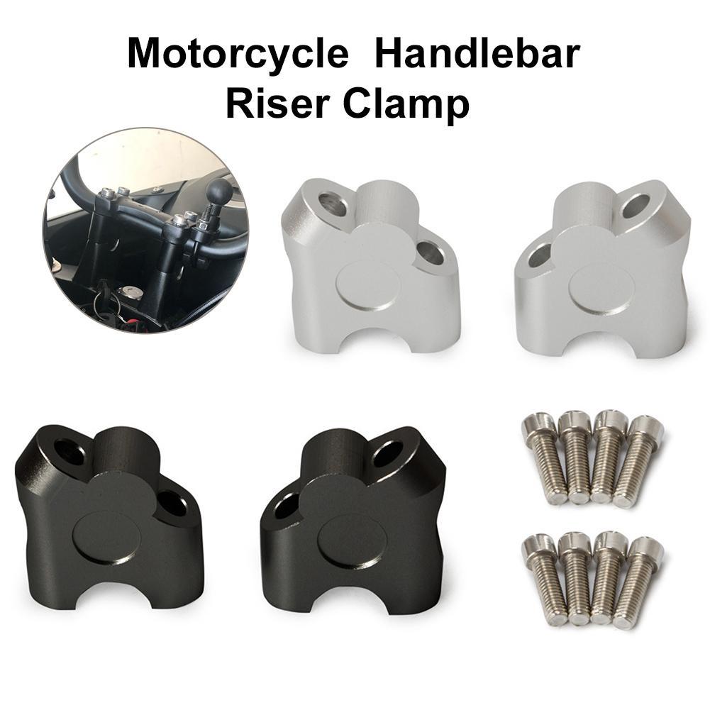 Зажим для Руля Мотоцикла, 22 мм, универсальный зажим из алюминиевого сплава для мотоцикла, Аксессуары для мотоцикла
