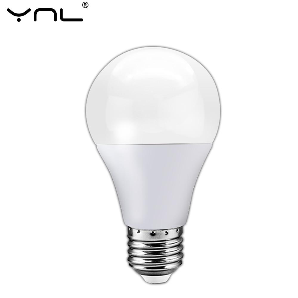 Lampada LED Lamp E27 AC 220V 240V 3W 6W 9W 12W 15W 18W Bombillas LED Light Bulb For Table Lamp Spotlight Ampoule Lamparas