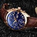 LIGE мужские s часы лучший бренд класса люкс мужские модные бизнес водонепроницаемые кварцевые часы для мужчин часы с кожаным ремешком в стил...