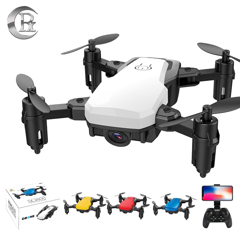 Sg800 Mini Folding Unmanned Aerial Vehicle Set High WiFi Transmission Gesture Photo Shoot Remote Control Aircraft Quadcopter