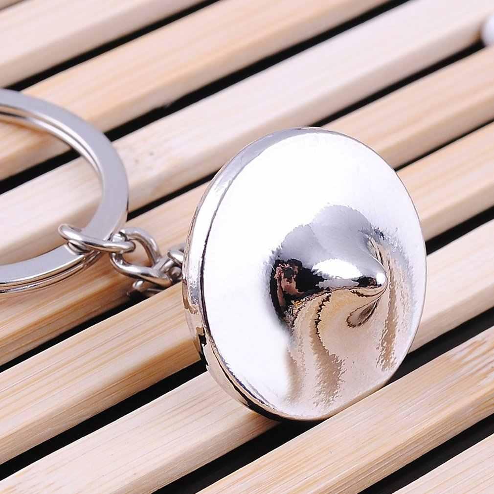 Брелок в форме гироскопа женское кольцо из горного хрусталя сумочка кулон Очаровательный мешок цепочка мешочек для украшений универсальные запчасти для автомобилей