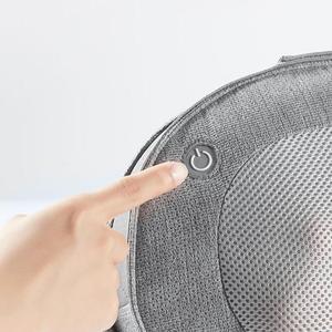 Image 5 - Youpin Leravan Entspannung Massage Kissen Zwei weg Kneten Vibrator Elektrische Neck Zurück Heizung Kneten Für Shiatsu Zurück Massager