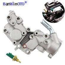 Алюминиевый корпус термостата, Фланец охлаждающей воды для Citroen BX C15 C3 MK/Peugeot 1007 205 206 1336.Y8 9654775080 1336Y8
