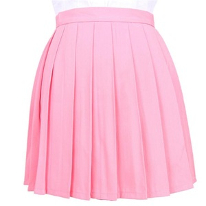 Image 3 - Japanese Pleated Cos Macarons High Waist Skirt Womens Skirts Ladies Kawaii Female Korean Harajuku  Clothing For Women