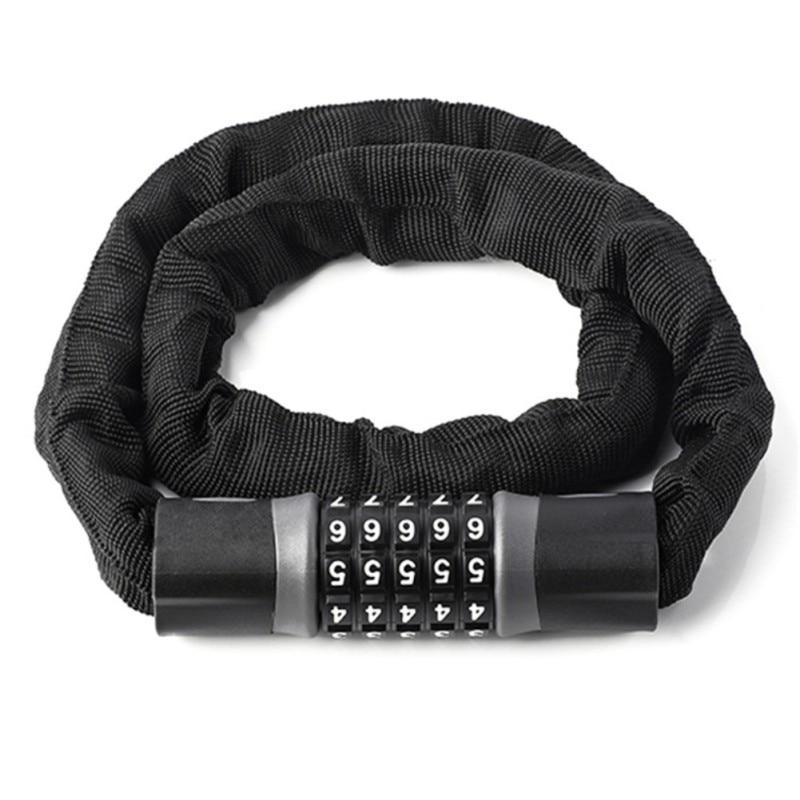 Portable safe 5-Digit Combination Password Bike Lock  Keyless