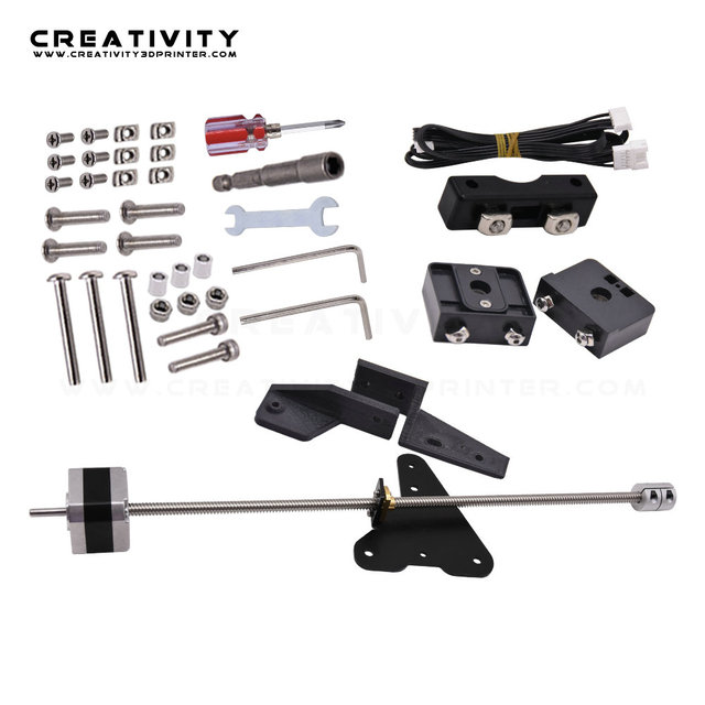 Dual Z Axis Lead Screw Upgrade Kits for Ender3 Ender3S CR10S CR10 3D Printer Accessories impressora 3d ender 3 pro dual z axis 4