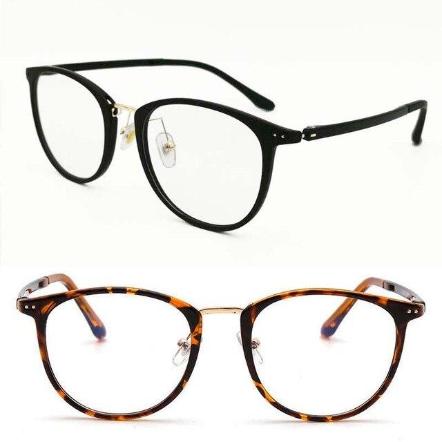 Anti blue ray blocking eyeglasses computer portable glasses TR90 combined metal square UV400 slim simple TV watching eyewear