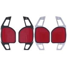 цена на Car Steering Wheel DSG Paddle Shift Shifter For Audi A3 S3 A4 S4 B8 A5 S5 A6 S6 A8 R8 Q5