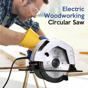 Image 3 - Electric Woodworking Circular Saw 1500W 7 inch 60mm Multi function Cutting Machine Household Small Flip Saw Circular