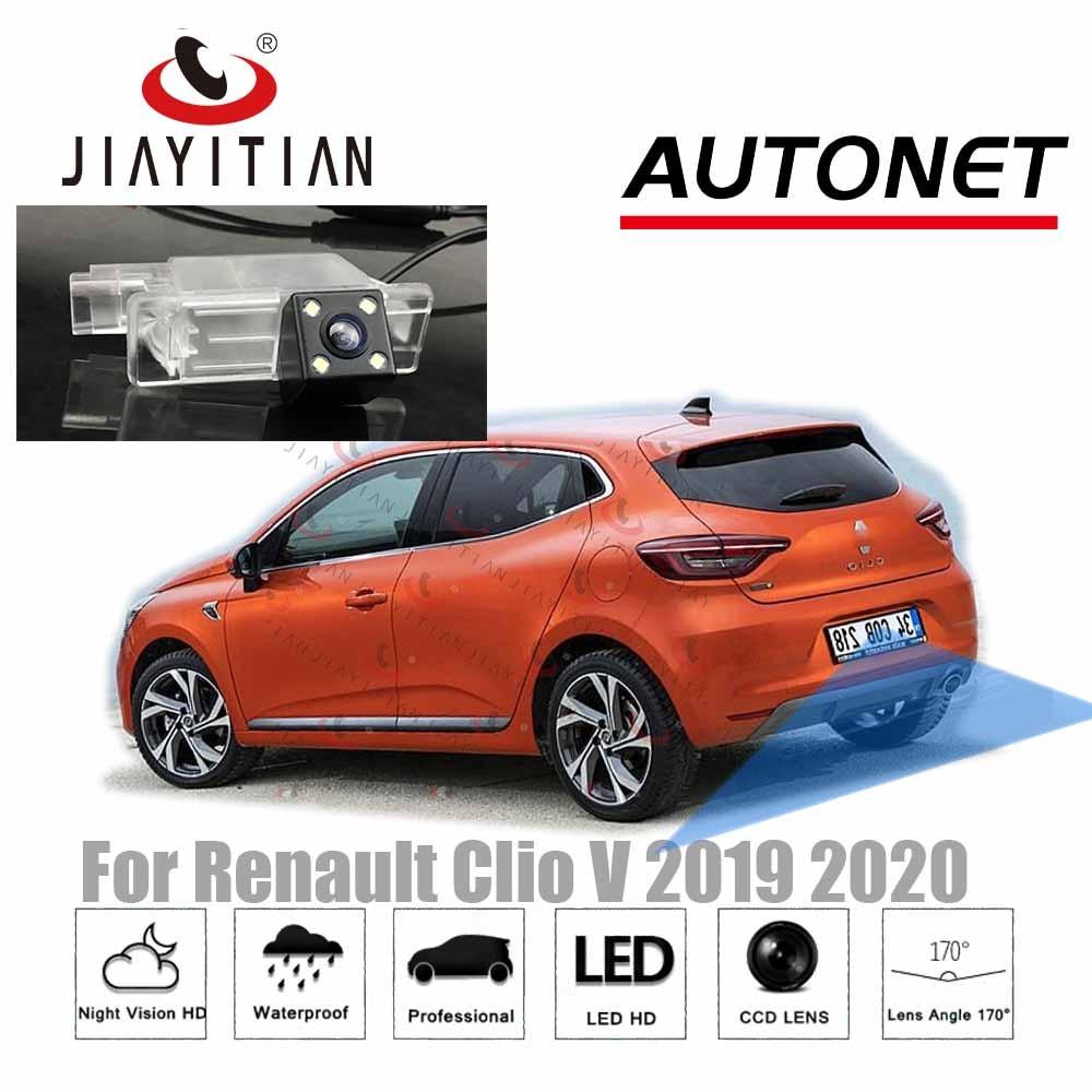 JiaYiTian 후면보기 카메라 르노 Clio V CLIO 5 새로운 Clio 5 2019 2020 HD CCD 나이트 비전 역방향 백업 주차 카메라
