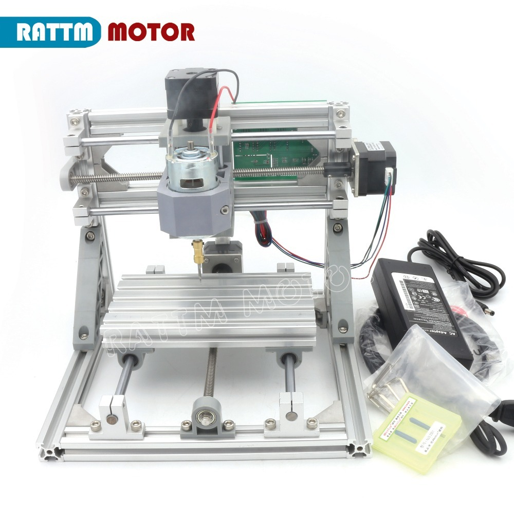 CNC 1610 GRBL Control DIY Mini CNC Machine Working Area 160x100x45mm 3 Axis Pcb Milling Machine,Wood Router,cnc Router V2.4