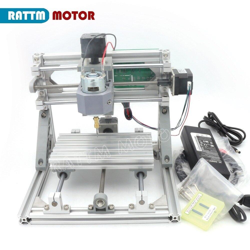 CNC 1610 GRBL Control DIY Mini CNC Machine Working Area 160x100x45mm 3 Axis Pcb Milling Machine,Wood Router,cnc Router V2.4
