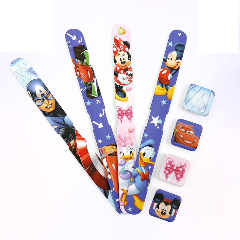 Disney Children's Digital Wristwatch Mickey Mouse Captain Minnie Cute Watch Kids Watches Boys And Girls LED Display Silicone
