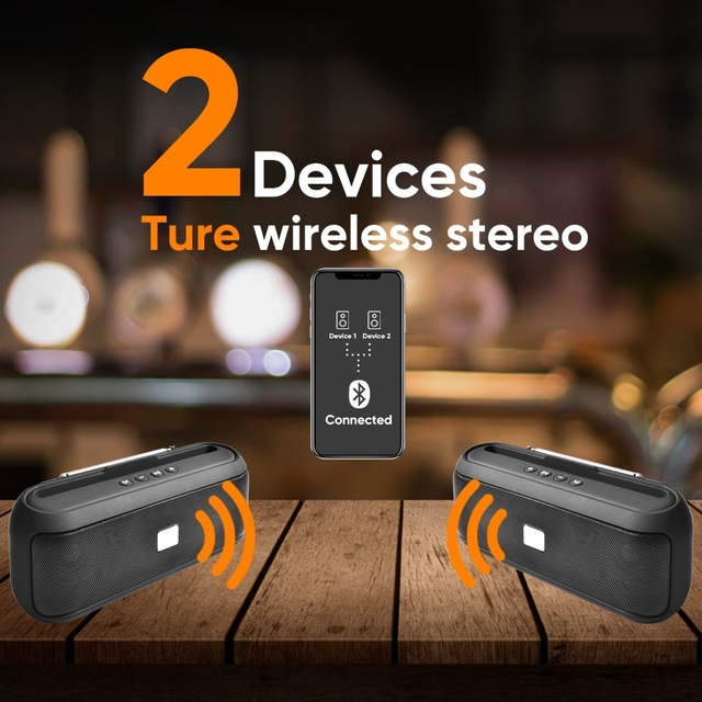 Altavoz Bluetooth portátil 4