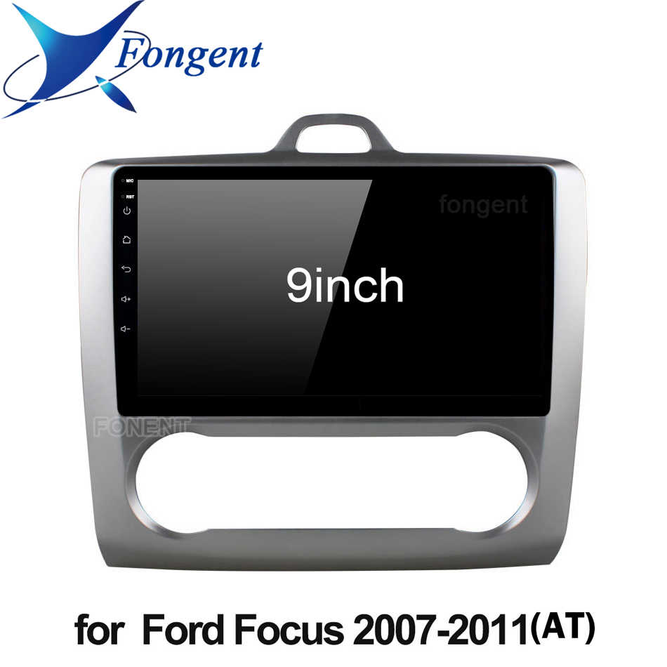 Dla Ford Focus 2 Mk 2 2004 2006 2008 2010 2011 Radio samochodowe multimedialny odtwarzacz wideo nawigacja do pojazdu GPS Android 9.0 nie 2din jednostka