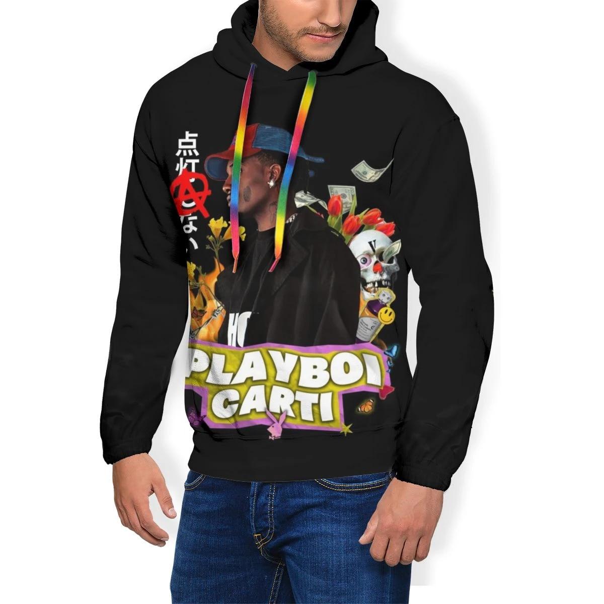 Playboi Carti Hoodie Playboi Carti Hoodies Xxx Polyester Pullover Hoodie Warm Male Long Sleeve Nice Hoodies Hoodies Sweatshirts Aliexpress
