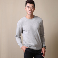 SHEPHERD LEGEND 100% Wool Long Sleeve Sweaters Men Sweater Pullovers Jumper Men's O Neck Solid Fashion Youth Teens Trend New