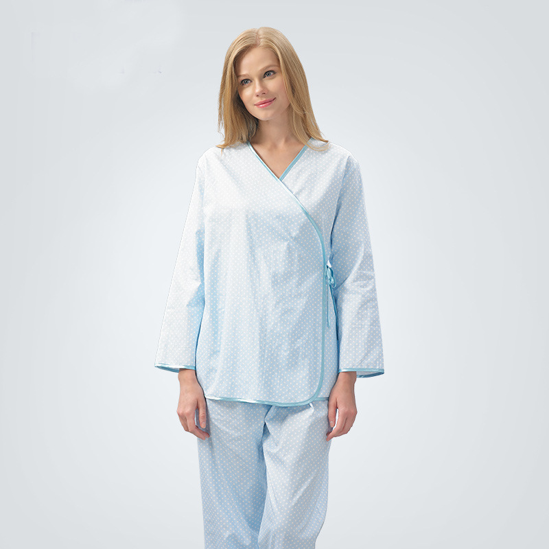 Hospital Gown Men And Women Pure Cotton Hospital Beauty Physical Examination Service Patients Patient Patient Clothing WOMEN'S S