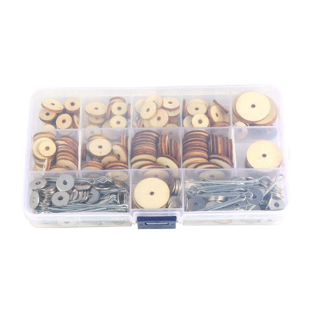 1 Box Of Total 90 Sets Wood Joints Connectors Handmade Diy Bear Doll Joint Bolt Rotatable Wooden Joints Dolls Aliexpress