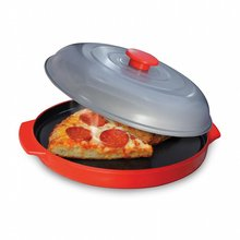 Microwave Oven Non-Stick Baking Tray Pizza Cheese Egg Bacon Defrosting Baking Tray Hot microwave oven baking tray cold rolled plate porcelain veneer insulation half hour kitchen baking kitchenware wholesale