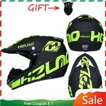 Fora de estrada capacete da motocicleta casco moto cara cheia motocross capacete profissional moto atv downhill racing bicicleta da sujeira