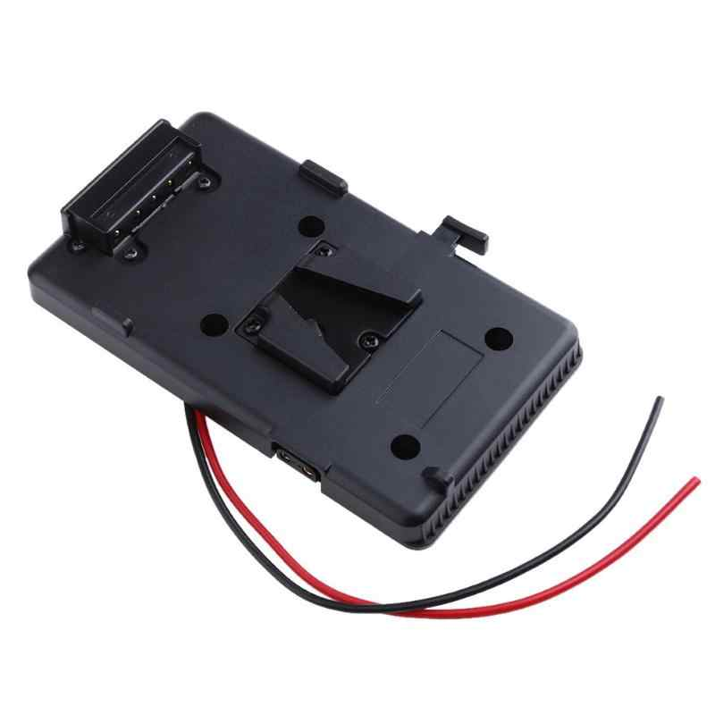 Back Pack Plate Adapter for Sony V-shoe V-Mount V-Lock Battery External #UK